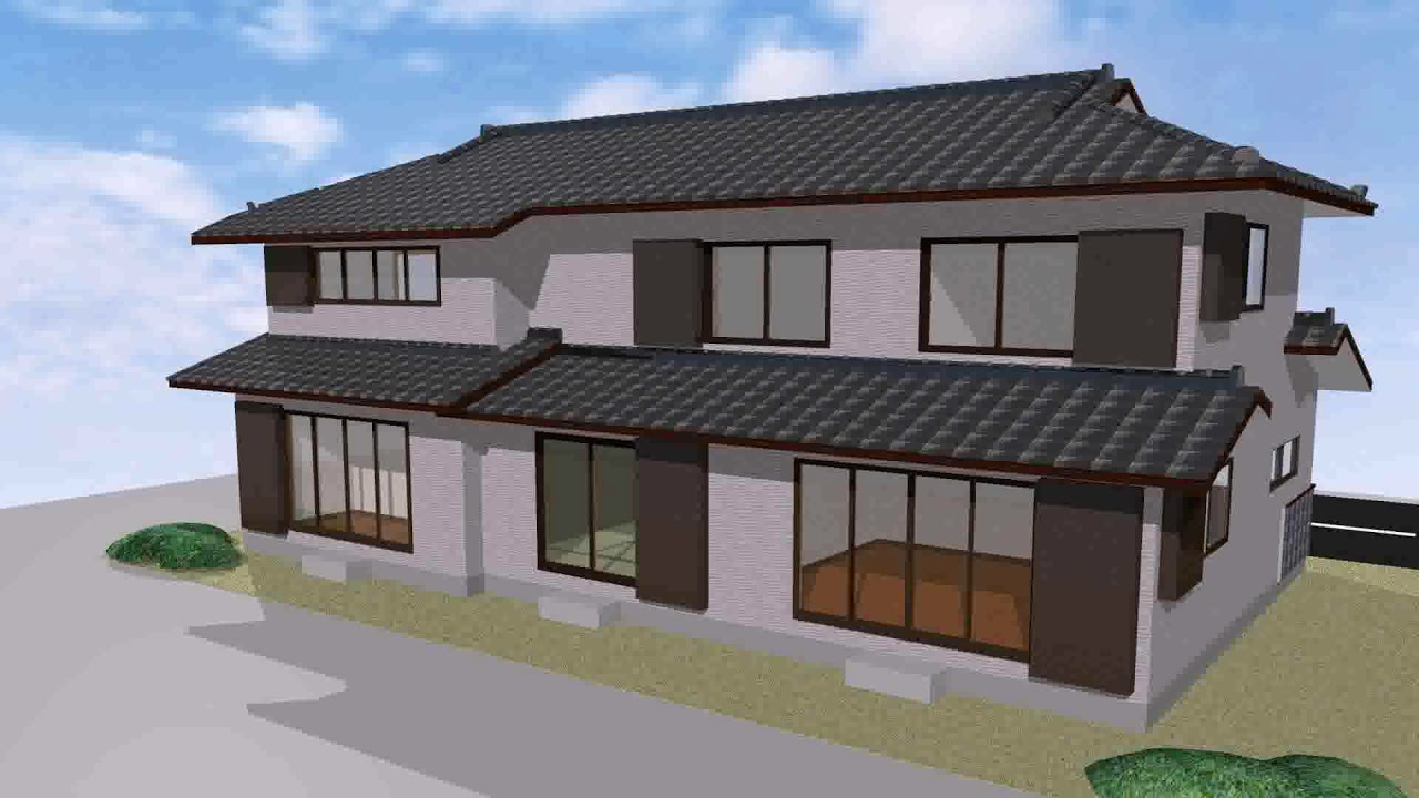 Modern Japanese Inspired House Design Youtube