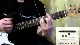 Scorpions Always Somewhere cover how to play guitar lesson