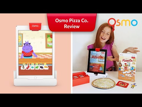 Diving into Osmo Pizza Co.  - Little Red World tours the Osmo Game System!