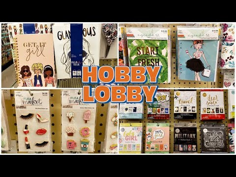 HOBBY LOBBY STATIONERY SALE 40% * SHOP WITH ME MAY 2019