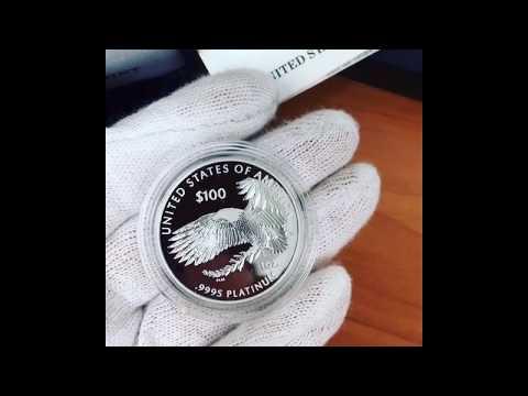 2018-W 1 Oz Proof Platinum American Eagle Coin