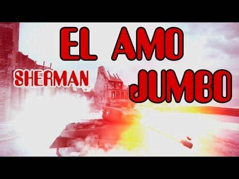 World of Tanks - El Amo Sherman Jumbo - Random