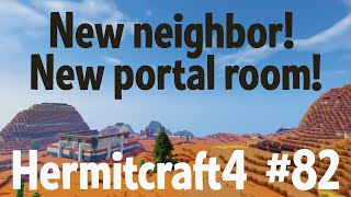 New neighbor, new portal room! - Hermitcraft 4 ep 82