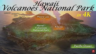 Hawaii Volcanoes National Park Big Island, Virtual Tour during the latest Eruption week of Dec.2020