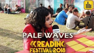 Pale Waves talk about their love for Lady Gaga and their warm up routine