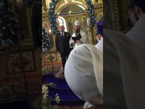Награждение Умарова в Махачкале