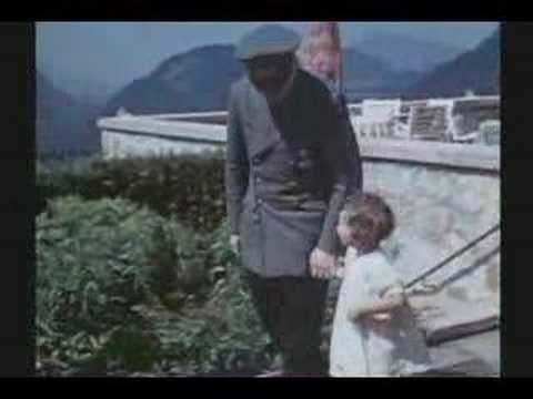 WW II : RARE COLOR FILM : HITLER'S LAIR
