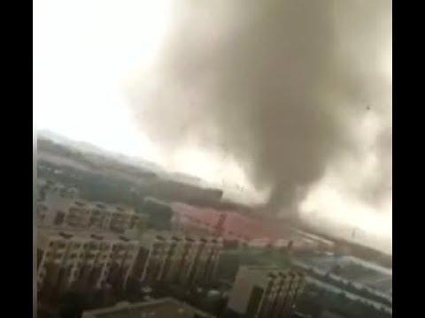 Çin'de meydana gelen kasırgada 6 kişi öldü