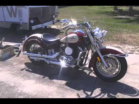 2001 Yamaha V Star 1100 Classic Silverado Project Bike Youtube