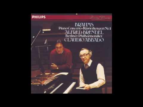 BRAHMS : Piano Concerto No. 1 in D minor op. 15 / Brendel · Abbado · Berliner Philharmoniker