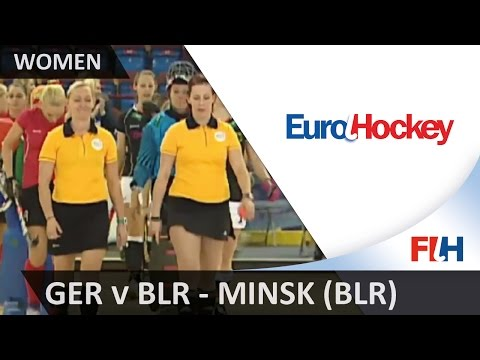 Germany v Belarus - EuroHockey Indoor Championship (Women) - Minsk (BLR)