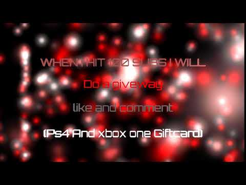 Xbox or Ps4 Gift Card Giveaway