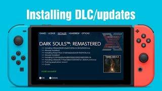 Installing Dlc/updates Offline On The Nintendo Switch   How To ニンテンドースイッチ改造:dlc/アップデートをオフラインでインストール