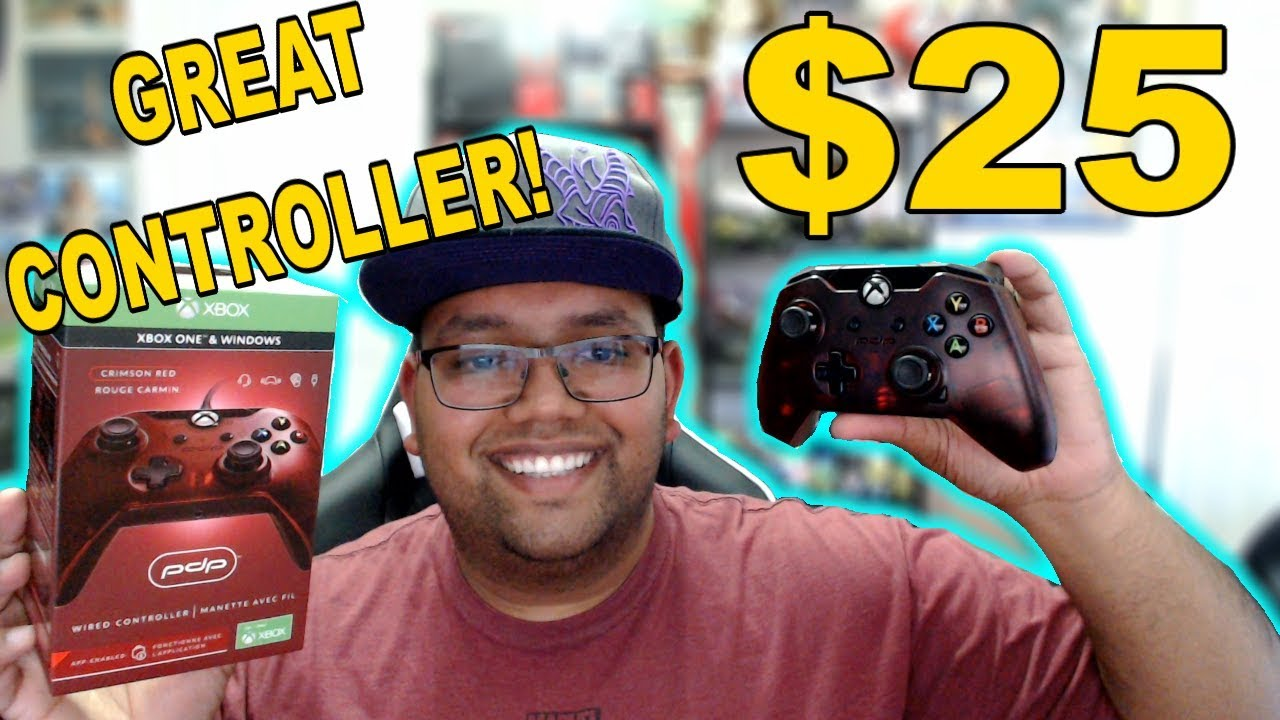 Pdp Wired Xbox Controller For 25 Unboxing And First Impressions Youtube