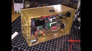 DIY High Voltage 8V-120V 0-15A CC/CV Small Portable Adjustable Bench Power Supply-MingHe BST900