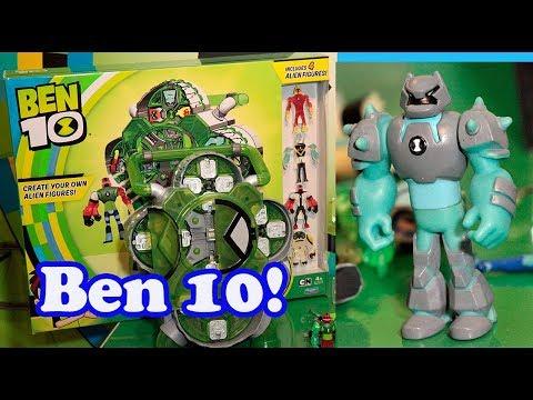 Ben 10 Reboot Season 3 Playsets Toy Fair Report!