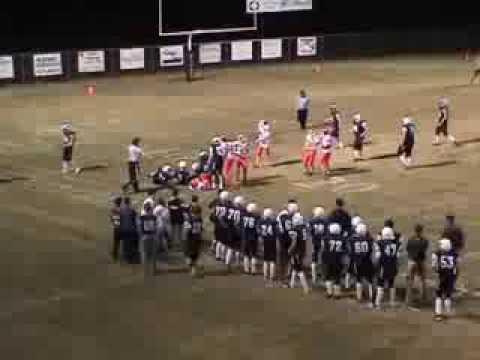 Caleb Ellison Football Highlights 2011- Mountain Pine High School
