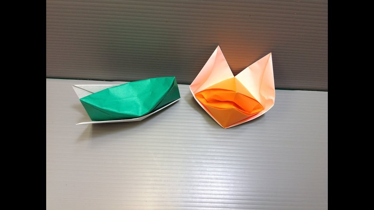 Daily Origami: 065 - Hat and Talking Fox - YouTube - photo#41