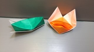 Daily Origami: 065 - Hat And Talking Fox