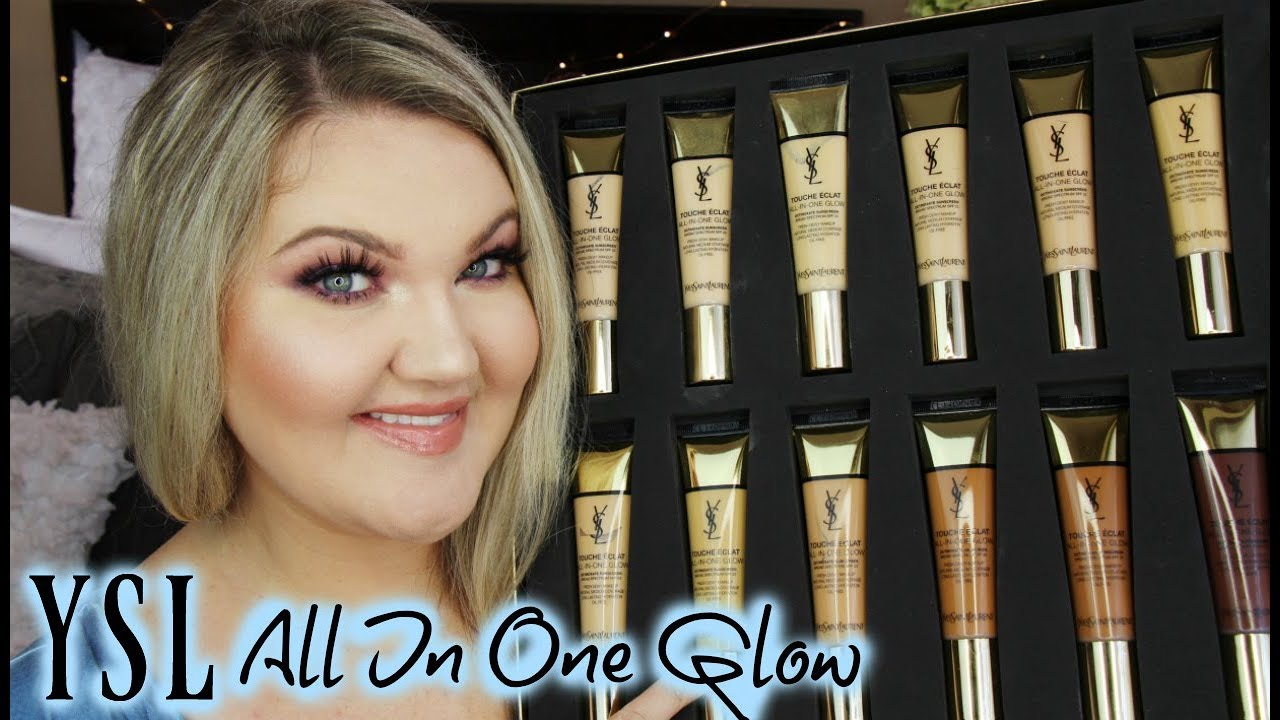 Ysl All In One Glow Tinted Moisturizer Review All 12 Shades