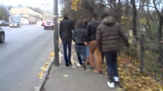 Дебилы в Смоленске)(прогулка перед концертом., 2012-10-26T15:45:52.000Z)