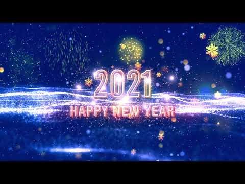 Happy new Year - 2021 - 10 Second Countdown with Music and  fireworks