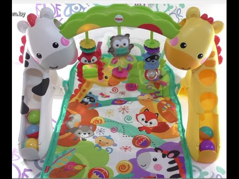 Newborn-to-Toddler Play Gym From Fisher-Price, коврик Fisher Price