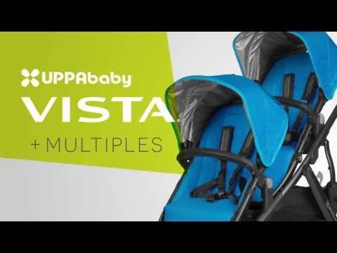 UPPAbaby VISTA Stroller - Multiples Mode