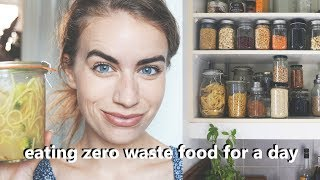 WHAT I EAT IN A DAY // zero waste & vegan food