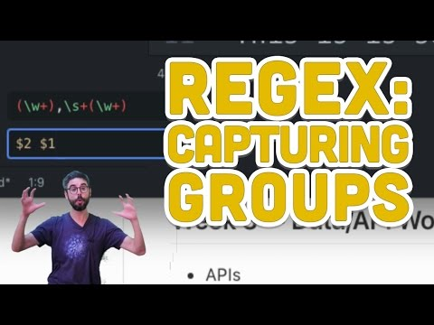 2.4: Regular Expressions: Capturing Groups - Programming with Text