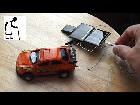 Solar charging my toy car's supercapacitor