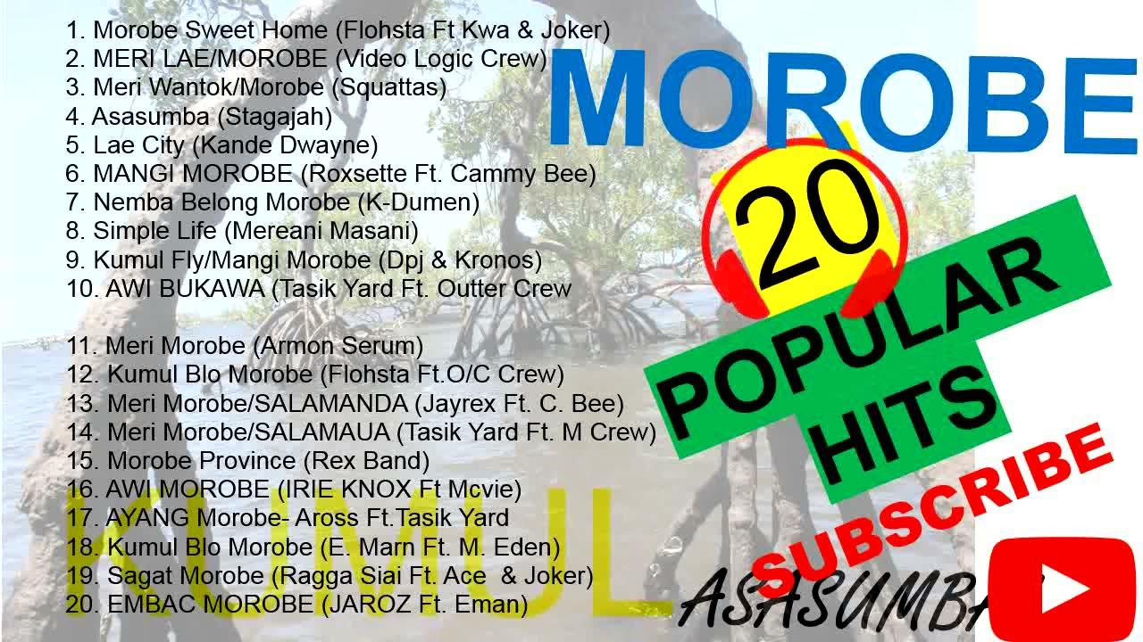 MOROBE 20 HIT SONGS PNG LOCAL MUSIC