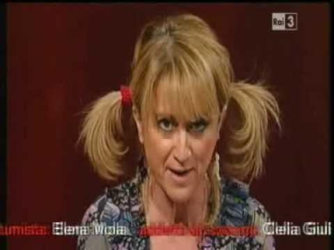 Luciana Littizzetto - Il sesso spiegato dalla piccola Carola - Che tempo che fa 16/01/2011
