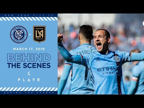 Mitriță's First Goal | BEHIND THE SCENES | NYCFC vs. LAFC | 03.17.19