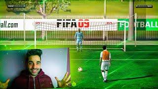 REAL MADRID vs BARCELONA - JUGANDO desde FIFA 08 al FIFA 18
