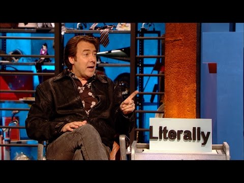 """Jonathan Ross on the incorrect use of """"literally"""" - Room 101: Series 4 Episode 5 Preview - BBC One"""