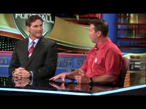 Bob Stoops Visits ESPN Campus