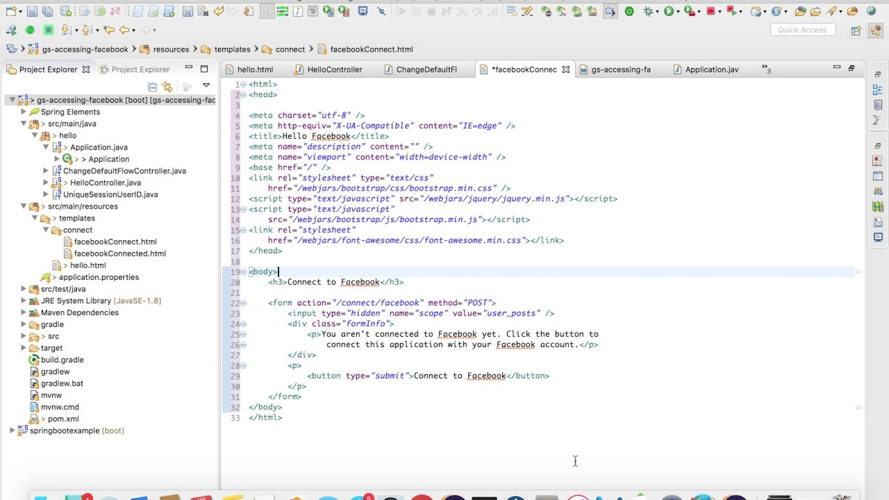 How to Add Bootstrap Css and JQuery To Spring Boot MVC