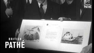 Frank Borman In Paris.     (1969)