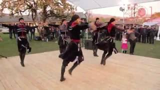 Танцевальный ансамбль Сухум. Выступление в Лыхнах.