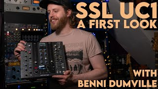 Solid State Logic UC1 | A First Look at SSL's new Plug-In Controller with Benni Dumville