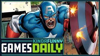 Avengers Video Game Rumors - Kinda Funny Games Daily 06.04.18