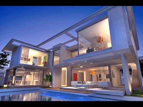 ultra modern design villa mijas youtube. Black Bedroom Furniture Sets. Home Design Ideas