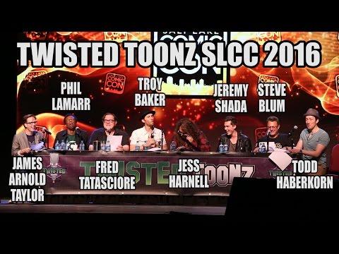 Twisted Toonz Panel at Salt Lake Comic Con 2016