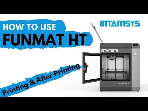How To Use FUNMAT HT | Printing & After Printing