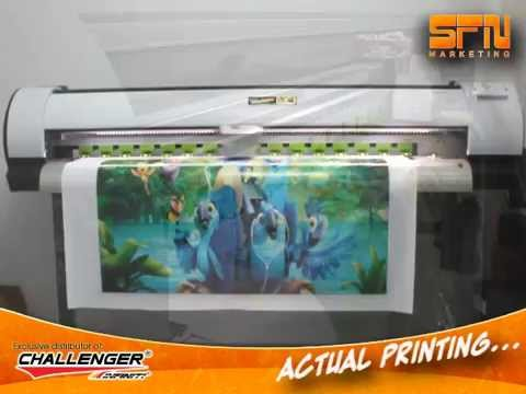 Tarpaulin Printer - CHALLENGER ECO