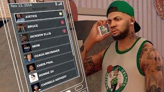 NBA 2k17 MyCAREER - Big Money Endorsements! Attribute Update + Jackson Ellis Text! Off Day #7! Ep.24