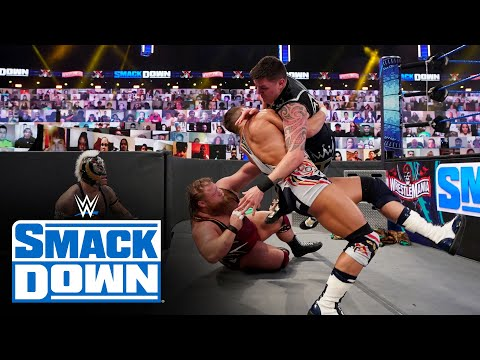 SmackDown Tag Team Title Fatal 4-Way Match: SmackDown, April 9, 2021