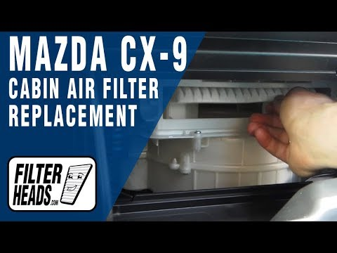 cabin air filter replacement mazda cx 9 mp3 download. Black Bedroom Furniture Sets. Home Design Ideas