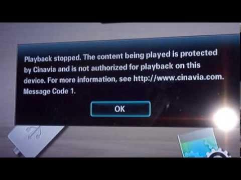 cinavia message code 3 破解